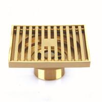 antique bronze shower - Brass Square Antique Bronze Bathroom Floor Drain Waste Grate Shower Drainer mm