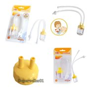Wholesale 1 Infant Safe Nose Cleaner Vacuum Suction Nasal Mucus Runny Aspirator High Quality Hot Baby Kids Healthy Care Convenient