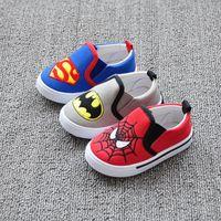 batman sneakers - J G Chen Children Superman Spiderman Batman Shoes New Girls Boys Kids Christmas Halloween Shoes Fashion Sneakers
