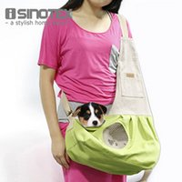 Wholesale Hot Sale Pet Carrier Cat Field Pack Puppy Doggy Single Shoulder Dog Carrier Bags For Small Pets