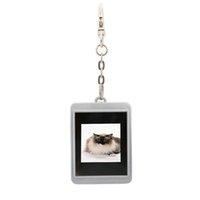 achat en gros de album trousseau numérique-Auto / Manuel 1,5 pouces LCD Mini photo numérique cadre photo numérique Album électronique avec Keychain