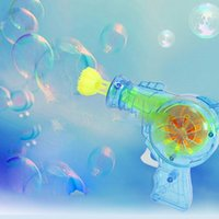 toy bubble gun - Outdoor Toys Kids Bubble Gun Soap Bubble Blower Child Toy Water Gun Gifts high quality