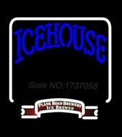 backlit signs - Icehouse Backlit Brewery Neon Beer Sign Avize Neon Nikke Air Jorrdan Neon Sign Real Glass Tube Custom LOGO Free Design