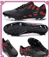 american soles - Cheap Soccer Shoes Edition Venom Phantom FG Jnr Boots Outdoors Cleats TPU Sole American Football Shoes Men Sports Shoes Man Athletics Shoes
