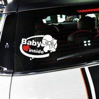 baby door signs - Car Sticker quot Baby inside quot Sign Car Decal Waterproof Reflective Vinyl Styling