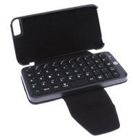 Al por mayor de Bluetooth del teléfono móvil del teclado, del teclado del cuero para el iPhone 5 / iPad / iPad 2 / el nuevo iPad / iPad Mini