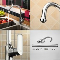 Wholesale Sprinkle by Centerset Single Handle Brass Kitchen Faucet Chrome Finish