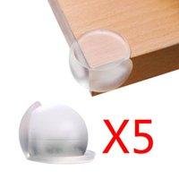 Wholesale 5pcs Newest High qulity PVC Children Soft Safety Ball Corner Table Edge Angle Guard Bumper Protector Cushion