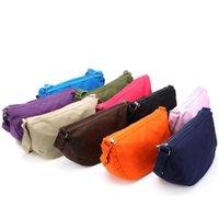 Wholesale New Small Women Girl Korean Casual Canvas Shoulder Slanting Cross Messenger Bag Colors