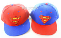 Wholesale Children s Caps Hats Superman boys baseball caps