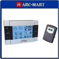 Cheap RF Wireless Indoor Outdoor Weather Station Alarm Clock #OT308