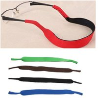 Wholesale NEW Spectacle Glasses Sunglasses Sports Band Strap Belt Cord Holder Neoprene Glasses Eyeglasses Outdoor Neck Cord Lanyards