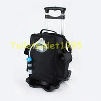 battery making machine - Fast Shipping By DHL New Arrival Low Noise Portable Battery Oxygen Concentrator Generator With Trolley Oxygen Making machine