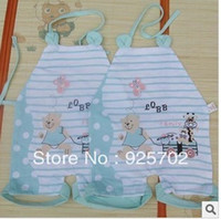 Cheap Wholesale-Summer hot new chinese-style chest covering baby bib in more than 4054 design and color is orange