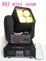 Wholesale remote newest Beam Wash Zoom in1 RGBW w LED Mini Moving Head