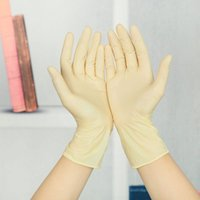 medical gloves - New Arrival Disposable Sterile Latex Full Finger Gloves Protective Gloves Medical Gloves FM0178