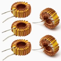 Wholesale 2015 High Quality Brass Toroid Core Inductor Wire Winding Wound uH A Coil for DIY
