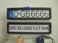 Wholesale European car frame license remote control for show only
