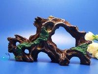 driftwood - Tree trunk Aquarium Ornament Driftwood poly resin Decor root Decaying AK591