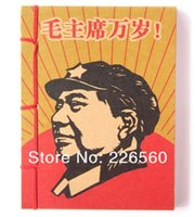 Wholesale Piece Chinese Communist Poster Artwork Note Pad Chairman Mao Note Book Propaganda Notebook
