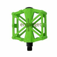 Wholesale Ultra light MTB Road Bicycle Bike Pedal Slip resistant Aluminum Alloy Ball Bearing White Blue black Green Red