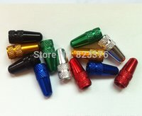 Wholesale DHL Fashion Aluminium Alloy Car Bike Bicycle Tire Wheel Presta Valve Cap French Valve