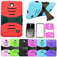 big blue tab - Hybrid Silicone Rubber Gel shockproof Case Cover For SAMSUNG Galaxy Tab quot quot Tablet SM T230 T231 Stand Hard big stand