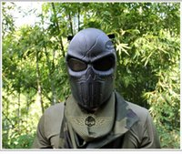 bb protect - colors Punisher Airsoft Paintball BB Gun Full Face Protect Safe Mask D12 Halloween mask party a spoof