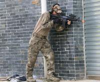 Cheap Men tactical pants Best 100% Cotton Panelled combat shirt