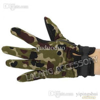 active outdoor games - 1Pairs High Quality Outdoor Camping Military Tactical Gloves Sport Gloves Hunting Riding Game Full Finger Gloves