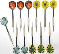 Wholesale 18 sets Electroplate Copper Steel Needle Streamline Tip Dart Fly Darts