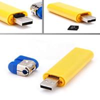 Wholesale Mini DV USB Lighter Digital DVR Hidden Camera Video Photo Recorder Camcorder