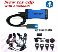 best chevy truck - 100 Warranty Newest TCS CDP with Bluetooth function best tcs cdp pro with full car cables truck cables DHL FREE SHIP