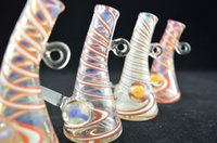 mini bucket - 3 inch Mini Glass Water Bong mm Oil Rigs Mini Oil Glass Quartz Bucket Cute Mini Bubbler sets High Quality