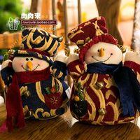 arab money - Christmas doll Arab Snowman Christmas decoration Christmas window decoration doll take money CM