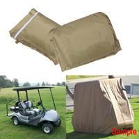 Wholesale 4 Passenger High Quality Taupe Golf Cart Cover For Yamaha Club Car EZ GO For Golf Car Waterproof FREE SHIP order lt no track