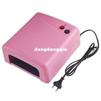 Wholesale V W UV Lamp Gel Curing Lamp Light nail Dryer Nail Art EU plug