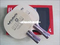 Wholesale HOT On Sale Latest Butterfly Racket Table tennis blade long handle FL FL short handle CS