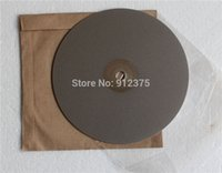 Wholesale Diamond grinding wheel quot mm quot mm Grit Flat Lap Lapidary grinding polishing disc Seal cutting gem jade glass