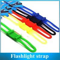 Wholesale Silicone strap Bike Ties Bicycle Parts Mountain Biking Universal Flashlight strap