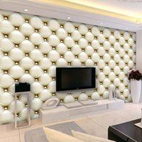 asia package - European style D soft packaging simple living room TV sofa bedroom wall wallpaper manufacturers direct rapid delivery