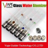 Cheap Pyrex Glass Water Atomizers Glass Hookah Atomizer Vhit Atomizer Tank Dry Herb Wax Vaporizer Herbal Pen Water Filter Pipe E Cigarette Bongs