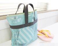 bath bag for toys - New Design Holiday Travel Storage mesh handy Bag For Cosmetics beach gym bath toy portable Pouch wash bag