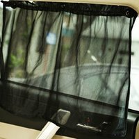 Wholesale Black Car UV Protection Side Window Curtain Sun Shade Curtain With Suction Cup High Quality BZ677069