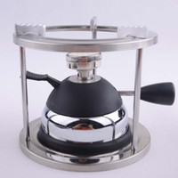 Wholesale Mini gas stove inflatable outdoor climbing gas furnace Syphon Moka stove ceramic head stainless steel head