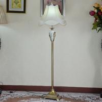 Wholesale European style floor lamp IKEA living room floor lamp bedroom bedside Chinese hotel project resin floor lamp