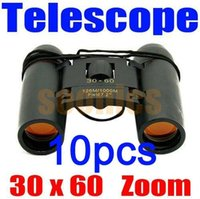 Wholesale 30 x Zoom Outdoor Travel Folding Daylight Vision Binoculars Telescope Climb Free Express order lt no track
