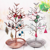 Wholesale Jewelry display Stand Tree branches Necklaces Earrings Storage Rack box