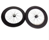 bicycle fixie - 700C mm Tubular carbon wheels for Fixed Gear fixie bike parts Carbon Bicycle Wheels