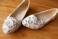 Flats best ballet flats - 2015 lace manual rhinestone flats wedding shoes the maid of honor wedding shoes bridal shoes best selling